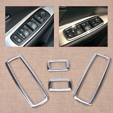 4x Door Window Switch Cover Fit For Jeep Grand Cherokee Dodge Journey 2012-2014