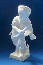 KPM BERLIN MEYER CAPRICORN ZODIAC SIGNS Antique Porcelain BOY DECEMBER FIGURINE