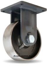 """R-MD-103FST 10"""" Hamilton-Maxi-duty Rigid Plate Caster Forged Steel Wheel 6500 lb"""