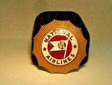 1934-1940's NATIONAL AIRLINES Pilot Hat Badge 1st Issue