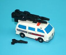 TRANSFORMERS G1 PROTECTOBOTS FIRST AID 100% COMPLETE & ORIGINAL 1986 HASBRO