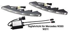 LED Tagfahrlicht 5 x 1 Watt Power SMD NS-523HP für Mercedes W203 W211