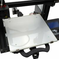 235x235mm Boro Glass Bed for Creality Ender 3 3D Printer + Swiss Mounting Clips