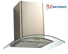 BRAND NEW Euro 70cm Curved Glass Canopy Range hood_ERGL70S