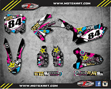 Honda CRF 250 - 2010 - 2013 Full Custom Graphic Kit RUSH Style sticker kit