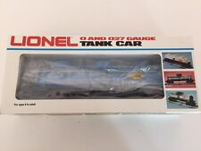 Lionel # 38356 DOW Chemical Tank Car redecorated by Pleasant Valley Process Co.