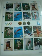 aus ABO Sammlung Olympiade 1980 olympia BOGEN BLOCK PARAGUAY bogen xx m. NR RAR