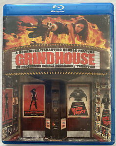 Grindhouse Death Proof & Planet Terror (Bluray, 2010,  Tarantino, OOP) Canadian