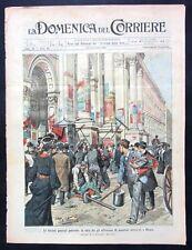 1904 MILANO ELEZIONI italiani Cina INCIDENTE TRENO MARANO VENEZIA console Vitto