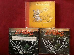 "ROBERT PLANT ""29 PALMS"" CD 1&2 LIMITED DIGIPAK/AND DREAMLAND ALBUM"