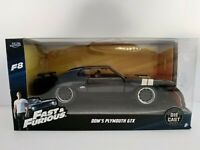 1/32 DOMS PLYMOUTH GTX A TODO GAS FAST AND FURIOUS COCHE A ESCALA SCALE DIECAST