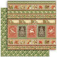 "Graphic 45 Winter Wonderland - NORDIC GREETINGS - 12x12"" Scrapbooking Paper"
