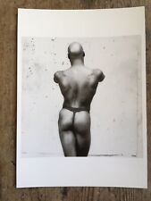 Ken Moody. Vintage Postcard With Image By Robert Mapplethorpe