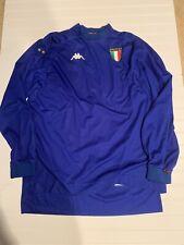 Kappa Gara Italia Football Jersey Size XXLarge