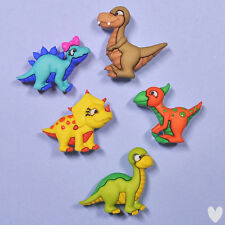 DRESS IT UP Buttons Dino-mite 7675 - Dinosaurs Embellishments Dinosaur