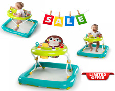 Walker Activity Assistant Jumper Baby Toy Play Bouncer Seat Adjustable Green