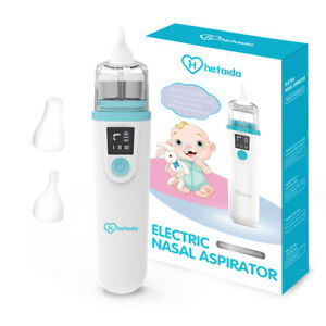 Electric Nasal Aspirator Baby Smart Nose Snot Cleaner USB Rechargeable 3 Modes