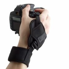 USA GEAR Camera Hand Grip Wrist Strap with Universal Tripod Socket Connection