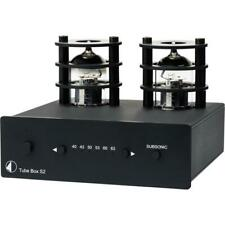 Pro-Ject Tube Box S2 SII MM/MC schwarz High End Röhren Phono-Vorverstärker black