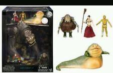 SDCC 2015 Toys R Us EXCLUSIVE Black Series Jabba's Rancor Pit Figure Set comic