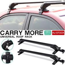 Universal Aluminium Car Roof Rack Sedan Luggage Carrier Pair Cross Bar Size