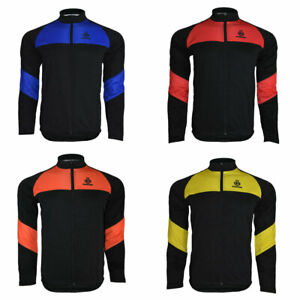 Ento Cycling Jersey Long Sleeve Thermal Full Zip Winter Jackets Racing Cycle