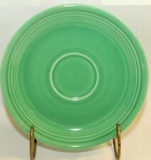 "Fiesta Original Green 6""  Saucer  Plate Dish Fiestaware Vintage"