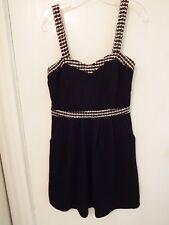 Charlotte Russe Jr Size Medium Black Tweed Dress – Nwts