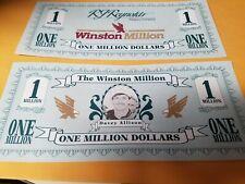 """Davey Allison  Winston Million Victory Lane """"Million Dollar Bill"""""""