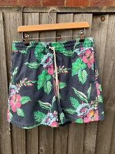 Polo Ralph Lauren swim shorts size L waist 32'' in grey/floral