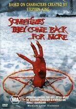 SOMETIMES THEY COME BACK....FOR MORE - DVD - R 4 - N&S  - Original Oz release