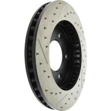 Disc Brake Rotor-Sport Drilled/Slotted Disc Front Left Stoptech 127.65088L