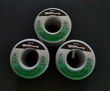 "New listing 3~New Forney Industries #38110 Premium Wire Solder ~1/8"" Diameter 8Oz Each 50/50"