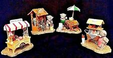 Me To You Figurines -The Market Stall Collection - All Boxed - Very Striking Set
