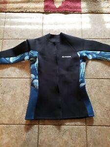 LayaTone Wetsuit Top XL Neoprene New No Tags