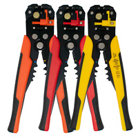Automatic Cable Wire Crimper Self Adjustable Crimping Tool Plier Cutter Colours.