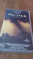 TWISTER - HELEN HUNT, BILL PAXTON VHS VIDEO