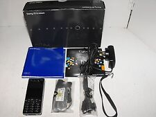 "Sony Ericsson K810i Blue Phone As New On Optus Network ""Great Little Phone"""