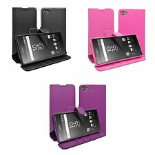 CASE FOR SONY XPERIA Z5 COMPACT WALLET IN VARIOUS COLOURS COVER