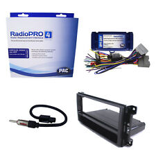 Radio Replacement w/Steering Wheel Controls & Dash Kit for Chrysler/Dodge/Jeep