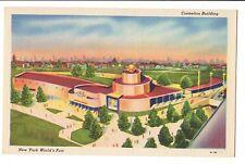 Vintage Postcard New York World's Fair 1939 Cosmetics Building
