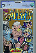 New Mutants #87 CBCS 9.8 NM+ 1990  Marvel Comics 2nd Print 1st Cable