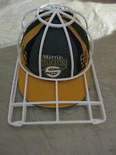 Vtg.NBA Seattle Supersonics Basketball  Cap REEBOK SZ.7-1/8'' 100% WOOL & HOLDER