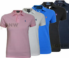 Ralph Lauren Short Sleeve Polo Shirts for Women