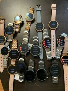 Fossil Gen 4 Watch Lot Of 25 Watches Please Read Description
