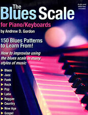 The Blues Scale For Piano/Keyboards Book/Cd