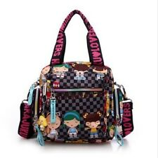 Fashion Harajuku Lovers handbag waterproof nylon one shoulder crossbody tote bag