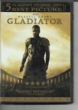 Gladiator! DVD! Russell Crowe! 5 Academy Awards 2000! Sword and Sandal! Historic