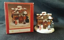 Winsor Collection- CANDY SHOP-Christmas House Collectible Village House w/ box