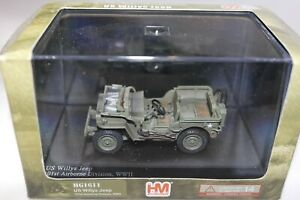 HOBBYMASTER 1:48 US WILLYS JEEP 101ST AIRBORNE DIVISION